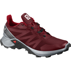Salomon Supercross Zapatillas Hombre, red dahlia/pearl blue/black